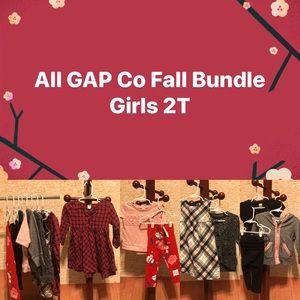 Girls All Gap Co Autumn 🍂 Bundle 2T EUC.
